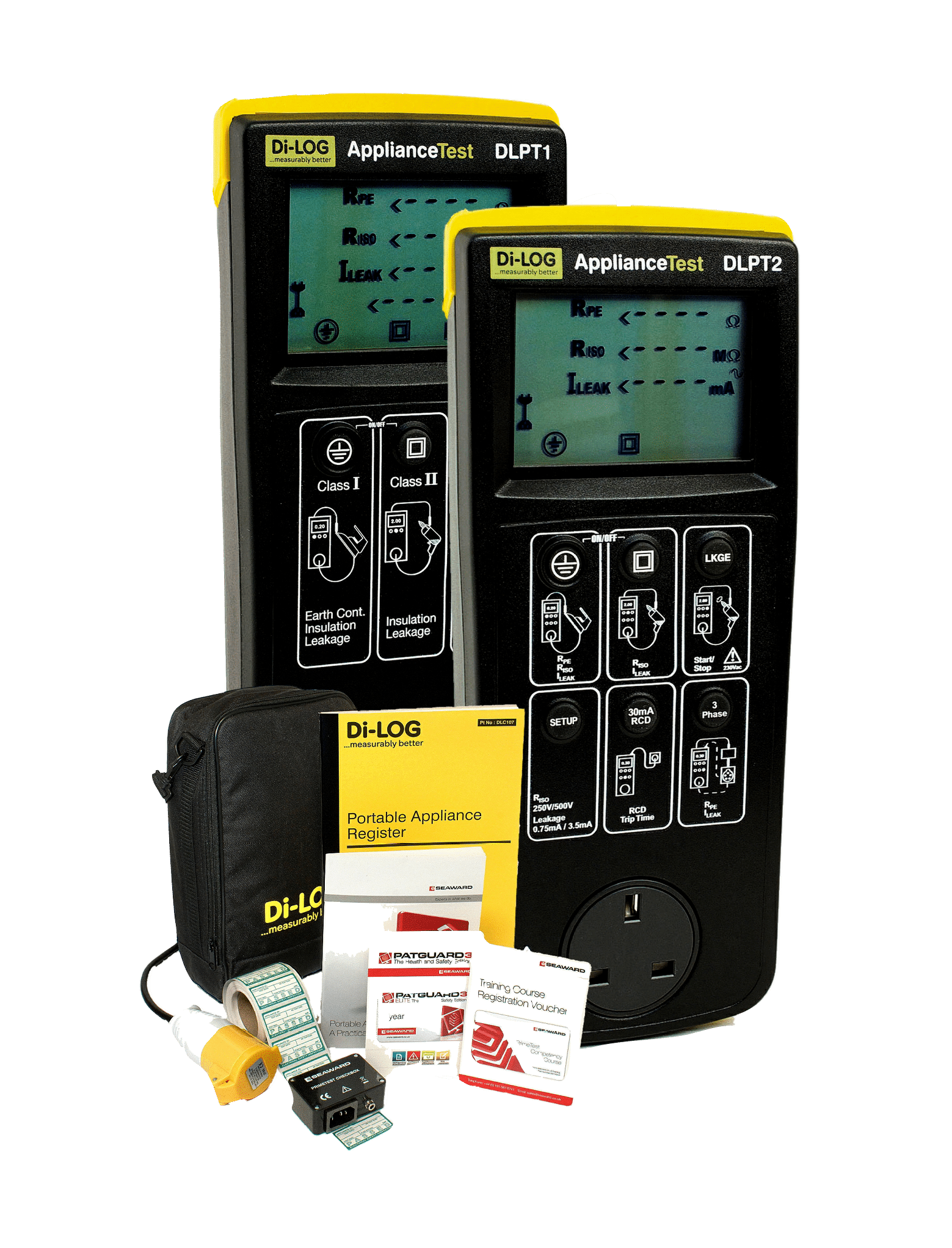 ApplianceTest Manual PAT Testers