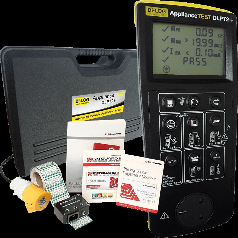 ApplianceTEST DLPT2+ Advanced Manual PAT Testing Kit