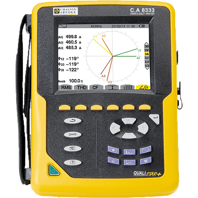 Qualistar CA8333 Power Quality Analyser