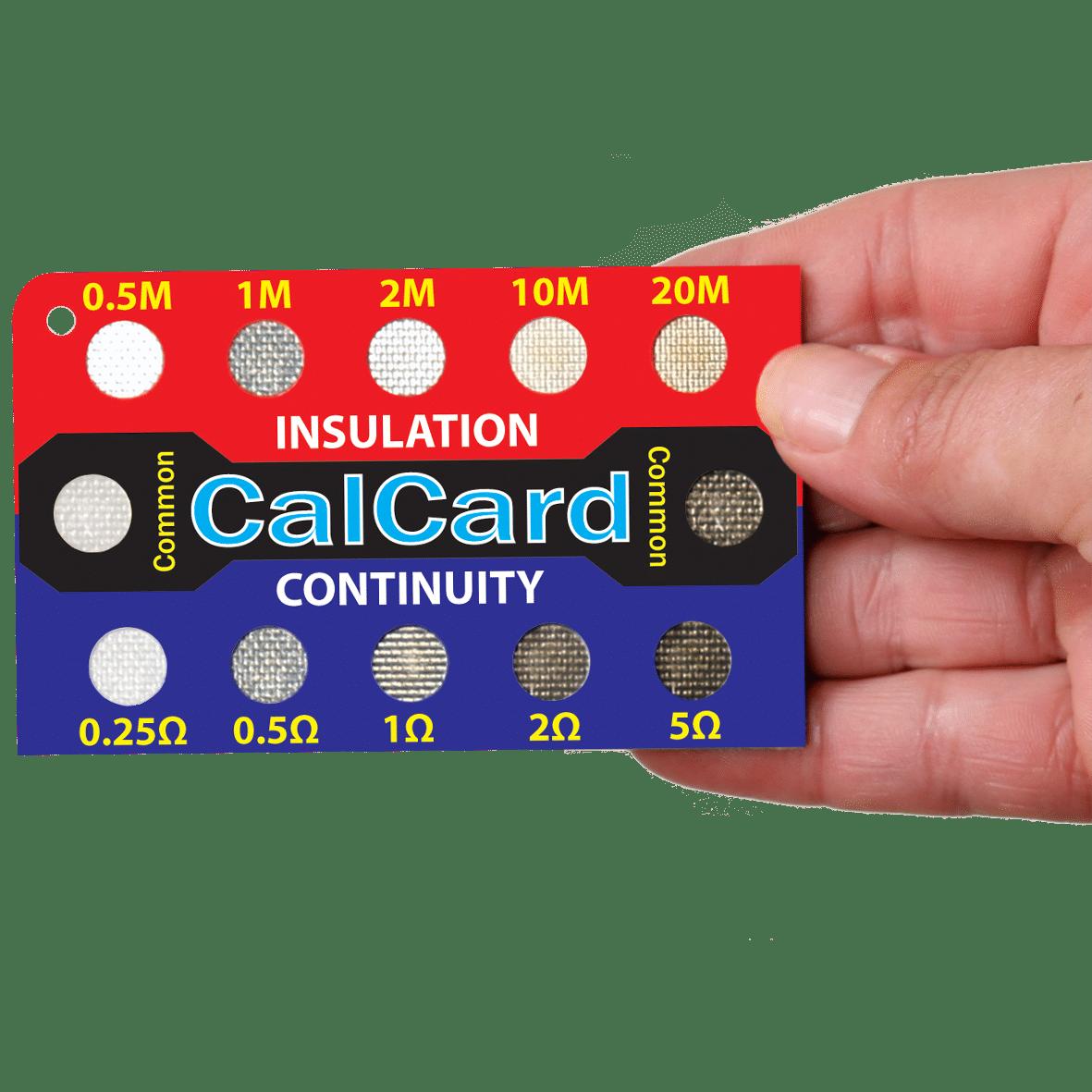 CALCARD Calibration Check Card